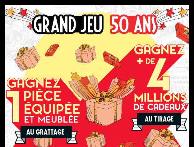 Grand Jeu 50 ans